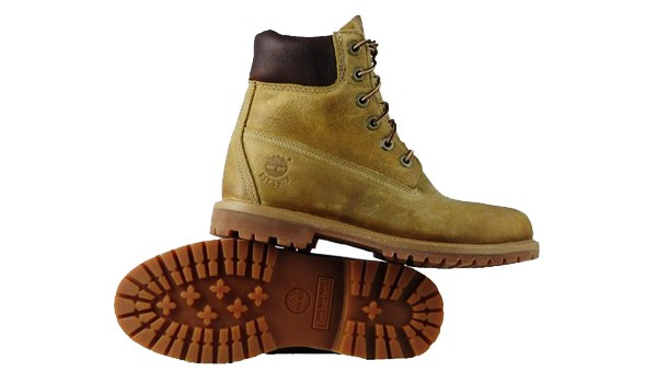 timberland 27377 premium boots f r 94 49 euro damenschuhe in beige. Black Bedroom Furniture Sets. Home Design Ideas