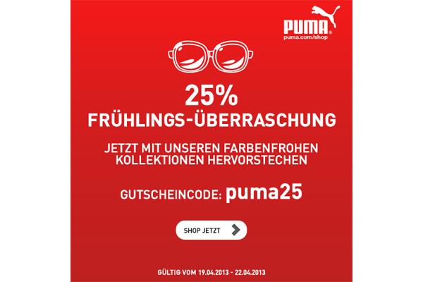 puma gutschein code