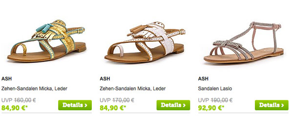 ASH Schuhe, Stifel und Boots günstiger kaufen