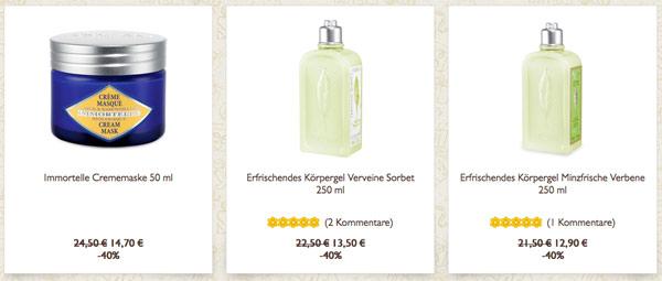 l'Occitane en Provence Kosmetik günstiger kaufen
