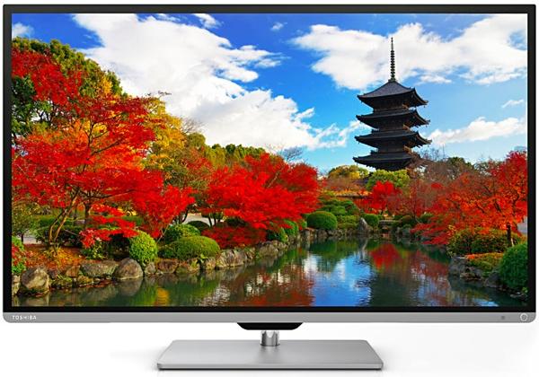 günstiger 50 Zoll 3D Fernseher von Toshiba