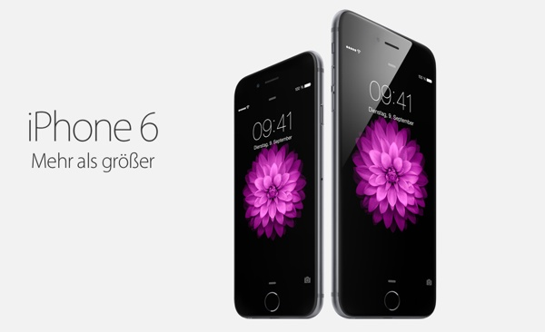 iPhone6 und iPhone 6 Plus sofort kaufen