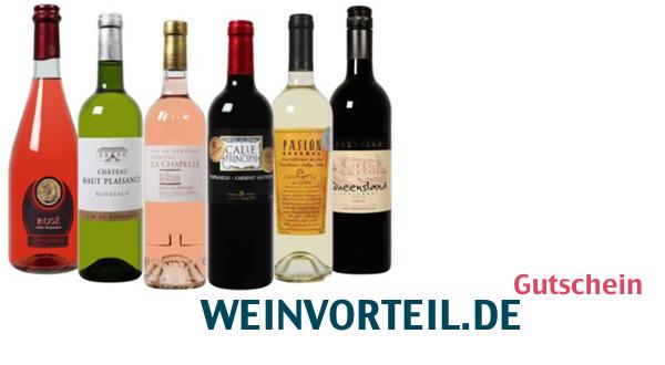 Gutschein für Weinbestellung bei weinvorteil