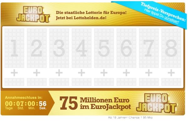 EuroJackpot online sicher spielen