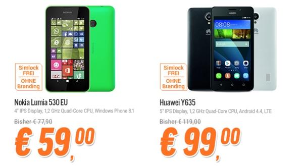 günstiges Smartphone unter 100 Euro