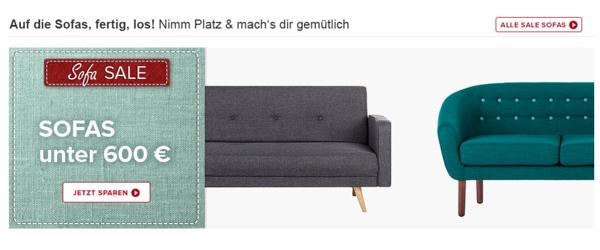 home24.de Sofas und Sessel bis zu 60% günstiger