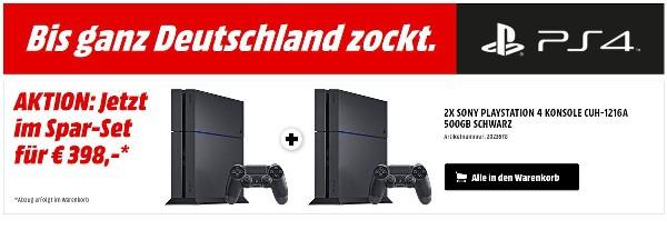 Playstation PS 4 günstiger kaufen
