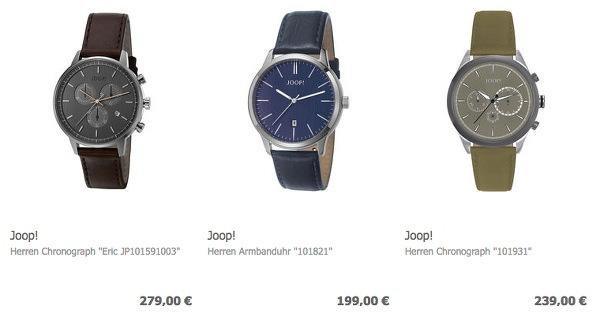 JOOP Uhren günstiger kaufen