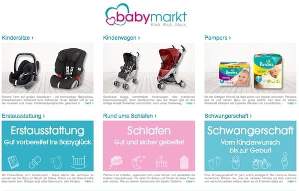babymarkt Gutschein Rabatt