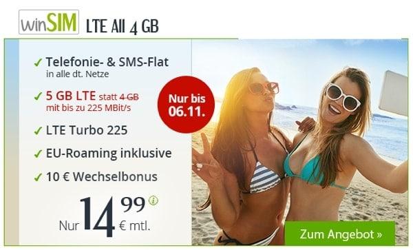 winSIM Handytarif 5GB Allnet Flat