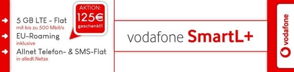 günstiger Vodafone Smart L Tarif