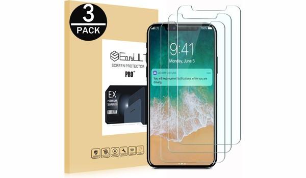 iPhone X / XS Panzerglas Displayschutz